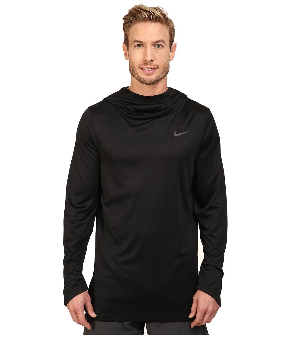 Nike - Elite Basketball Hoodie (Black/Black/Iridescent) Men's Sweatshirt