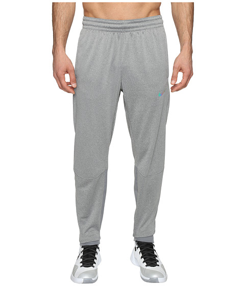 Nike Therma Hyper Elite Basketball Pant - Dark Grey Heather/Iridescent