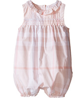 Burberry Kids - NB One-Piece with Frill Collar (Infant)