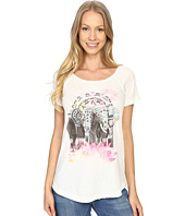 Lucky Brand - Elephant Drawing Tee