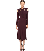 YIGAL AZROUËL - Stella Cold Shoulder Matte Jersey Dress