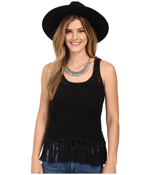 Lucky Brand Nomad Fringe Tank Top
