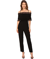 YIGAL AZROUËL - Lace Trimmed Jumpsuit