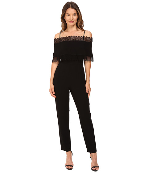 YIGAL AZROUËL Lace Trimmed Jumpsuit