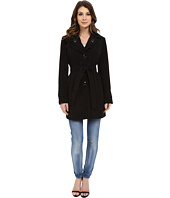 Calvin Klein - Double Collar Single Breasted Belted Trench