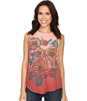 Lucky Brand - Washed Bouquet Tank Top