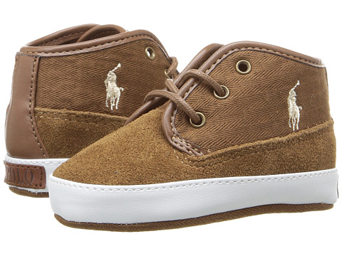 Polo Ralph Lauren Kids Waylon Mid (Infant/Toddler) - Snuff
