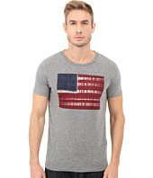 Lucky Brand - Tie-Dye Flag Graphic Tee