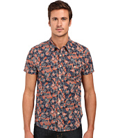 Lucky Brand - Short Sleeve One-Pocket Shirt