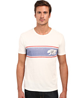 Lucky Brand - Bear Stripe Graphic Tee