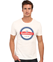 Lucky Brand - Budweiser Stripe Graphic Tee