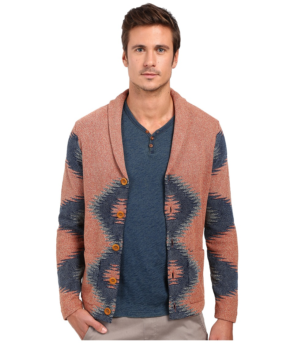 Lucky Brand Novelty Intarsia Sweater Multi Mens Sweater