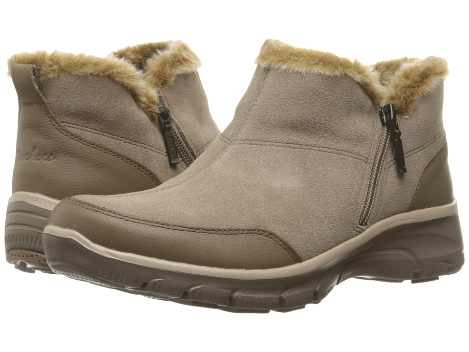 SKECHERS Easy Going (Taupe) Women