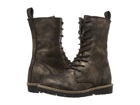 Pazitos Prairie Boot PU (Toddler/Little Kid) - Bronze