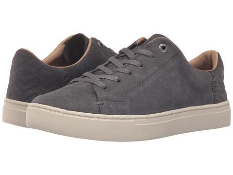 TOMS Lenox Sneaker - Grey Suede