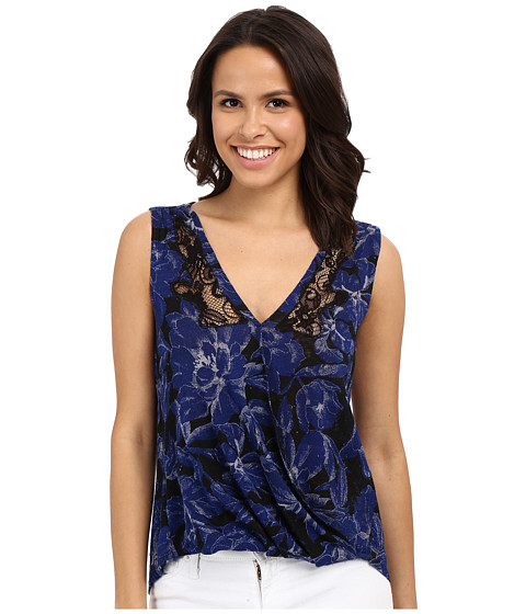 Lucky Brand Printed Floral Top