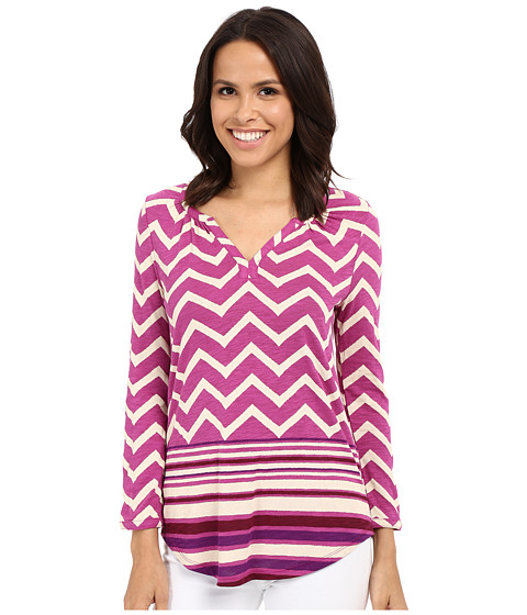 Lucky Brand Chevron Print Top