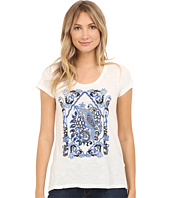 Lucky Brand - Embroidered Bird Top