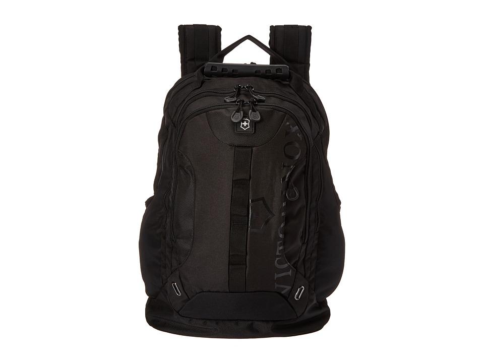 Victorinox - VX Sport Trooper Laptop Backpack (Black/Black Logo) Backpack Bags
