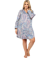 LAUREN Ralph Lauren - Plus Size Cotton Sateen Sleepshirt