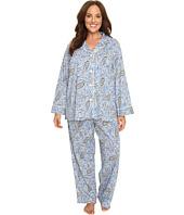 LAUREN Ralph Lauren - Plus Size Bingham Knits Pajamas