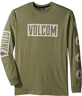 Volcom Kids - Knock Long Sleeve Tee (Big Kids)