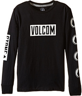 Volcom Kids - Knock Long Sleeve Tee (Toddler/Little Kids)