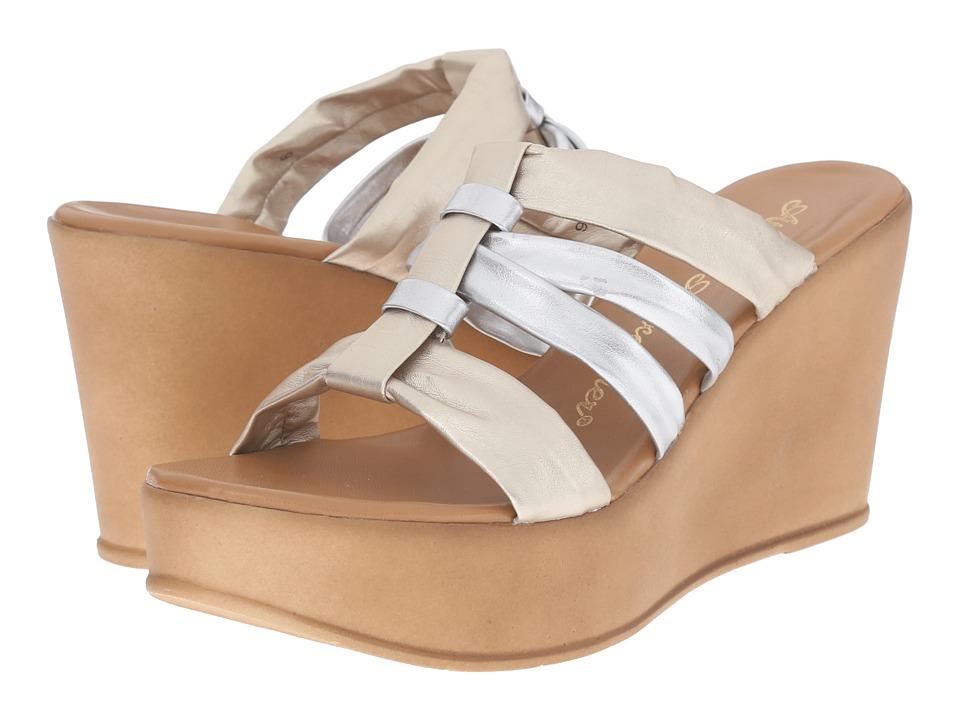 Athena Alexander Samba Metallic Multi Womens Shoes