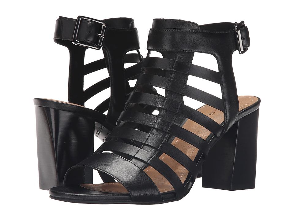 Tahari Avid Black Classic Calf High Heels