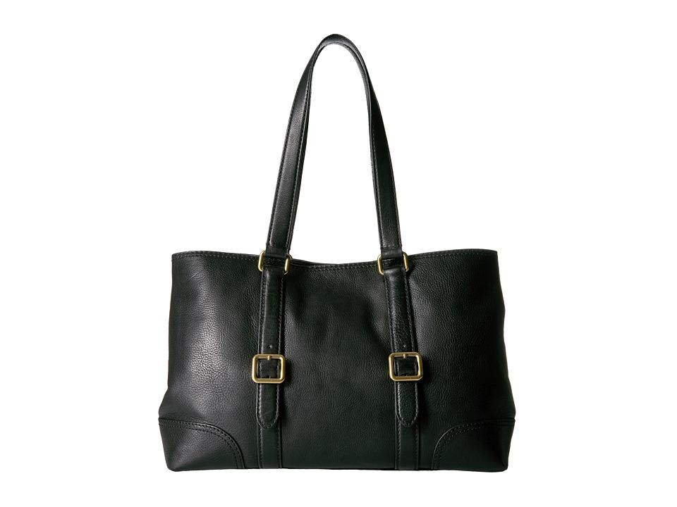 Frye - Claude Tote (Black) Tote Handbags
