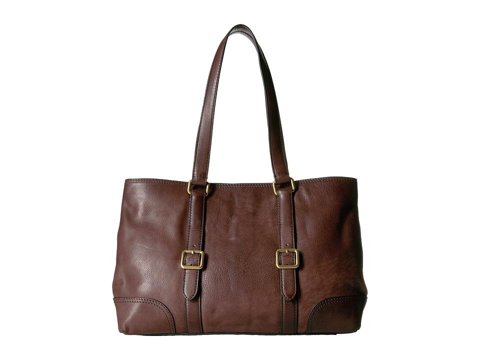 Frye - Claude Tote (Chocolate) Tote Handbags