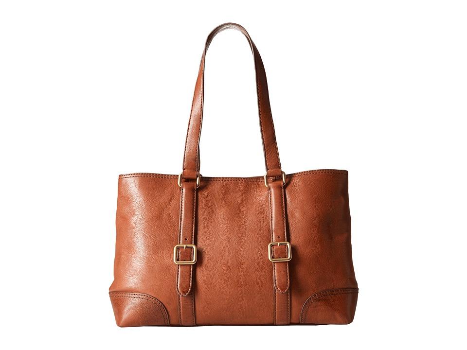 Frye - Claude Tote (Whiskey) Tote Handbags