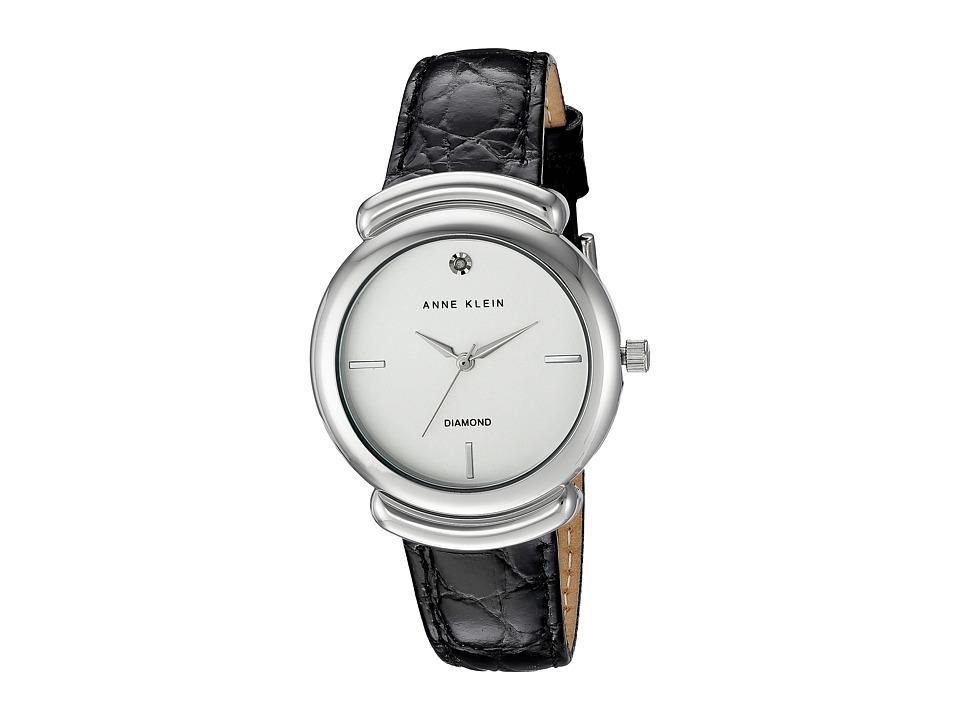 Anne Klein - AK-2359SVBK (Black/Silver) Watches