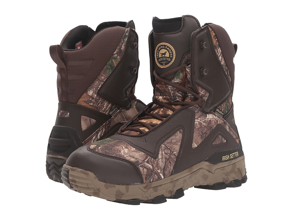 Irish Setter - VaprTrek LS 8 RT XT 1200G WP (Brown/Camo) Men