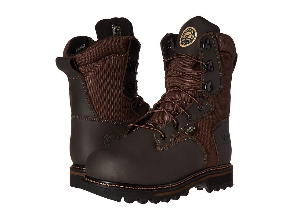 Irish Setter Gunflint 8 800G (Brown) Men's Work Boots