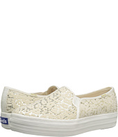 Keds - Triple Decker Flocked Leopard Sequins