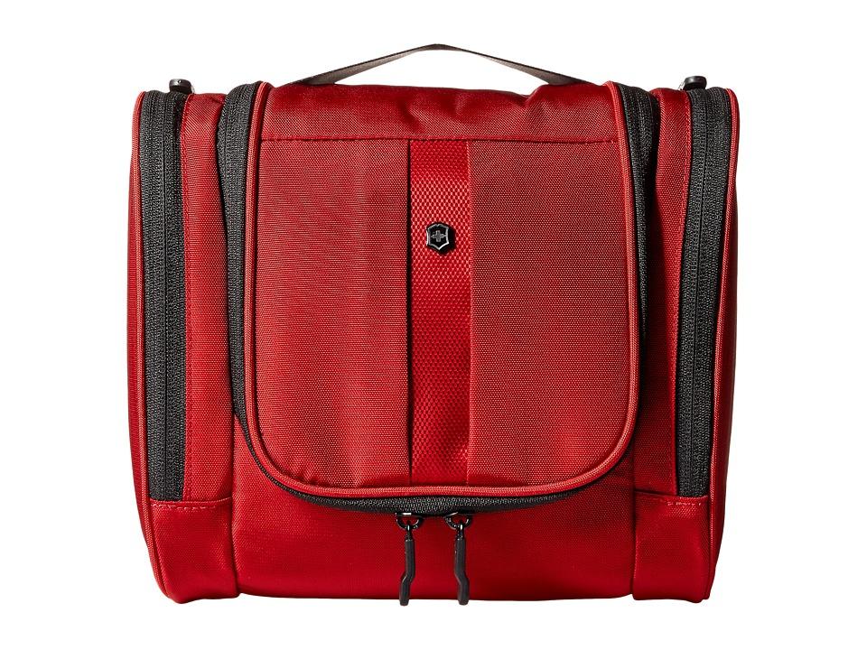 Victorinox - Hanging Toiletry Kit (Red/Black Logo) Toiletries Case