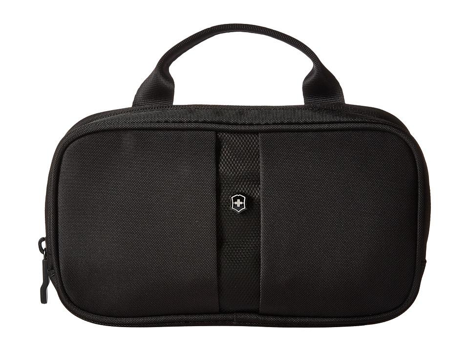 Victorinox - Overnight Essentials Toiletry Kit (Black/Black Logo) Toiletries Case
