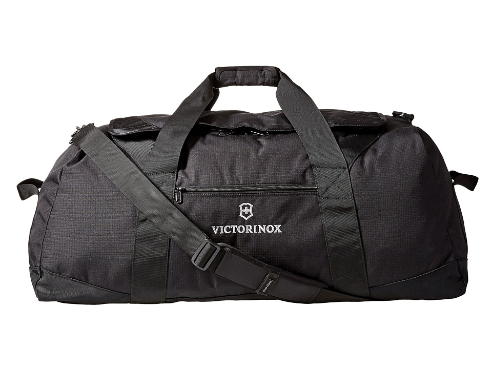 Victorinox Large 32 Travel Duffel (Black/Black Logo) Duffel Bags