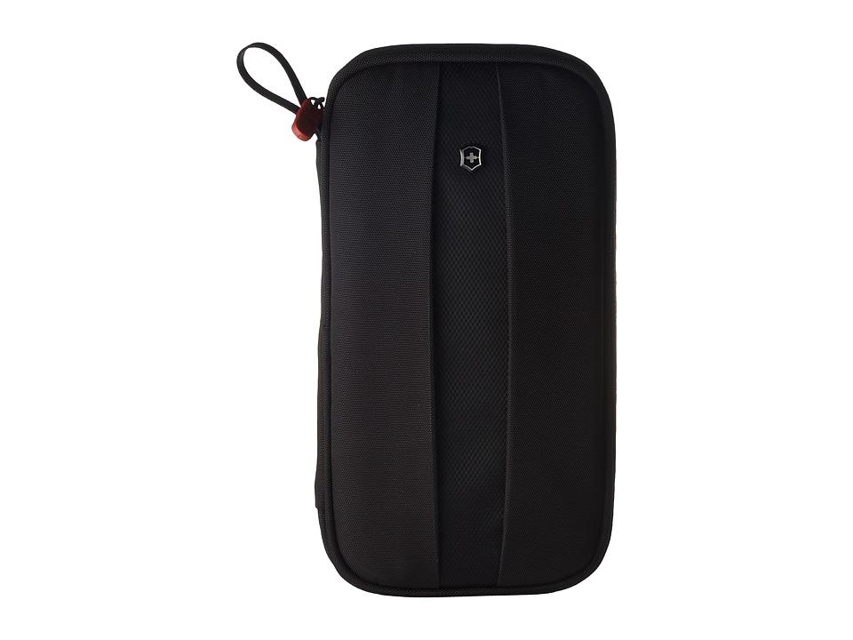 Victorinox - Travel Organizer with RFID Protection (Black/Black Logo) Wallet