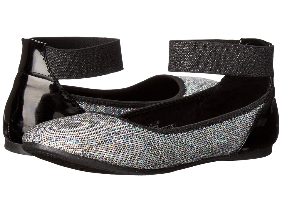 Kenneth Cole Reaction Kids - Tap Girl (Little Kid/Big Kid) (Pewter) Girls Shoes