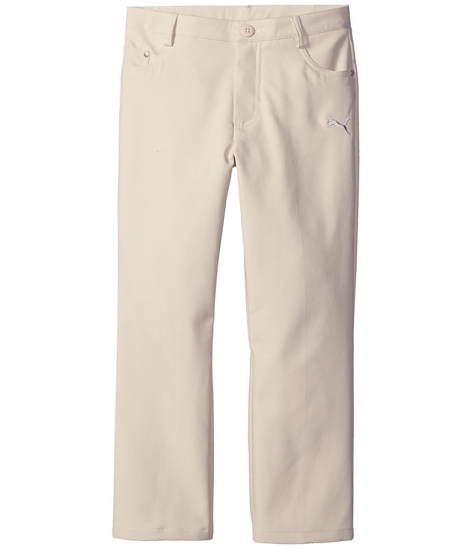 PUMA Golf Kids Five Pocket Pant Big Kids Oatmeal Boys Casual Pants