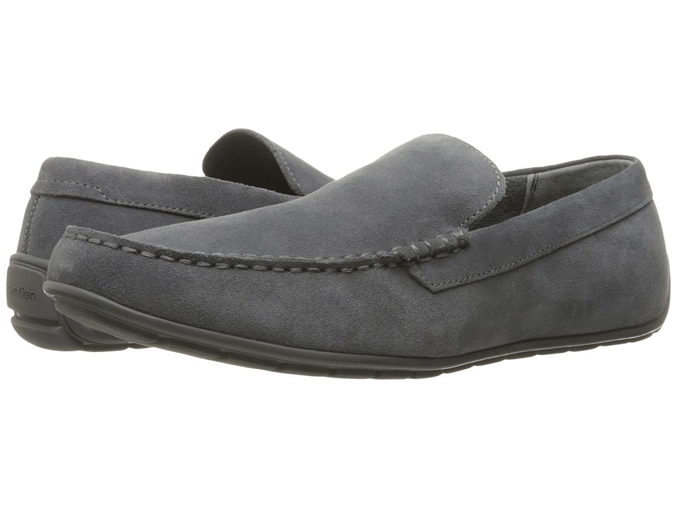 Calvin Klein - Isaac (Grey Oily Suede) Men