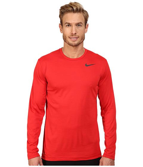 Nike Dri-FIT™ Training Long Sleeve Shirt - Gym Red/University Red/Black