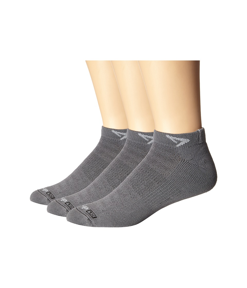 Drymax Sport Running Lite Mesh Mini Crew 3 Pack Anthracite Low Cut Socks Shoes