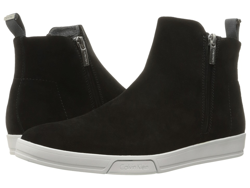 Calvin Klein - Barkley (Black Oily Suede) Men