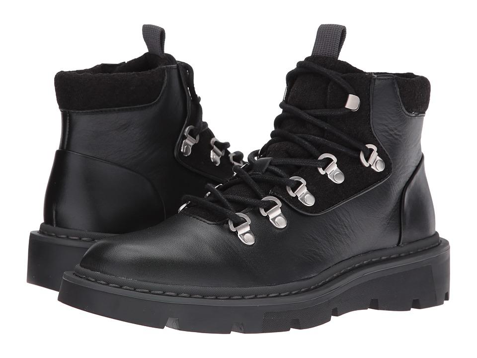 Calvin Klein - Raymon (Black Smooth Calf Leather) Men