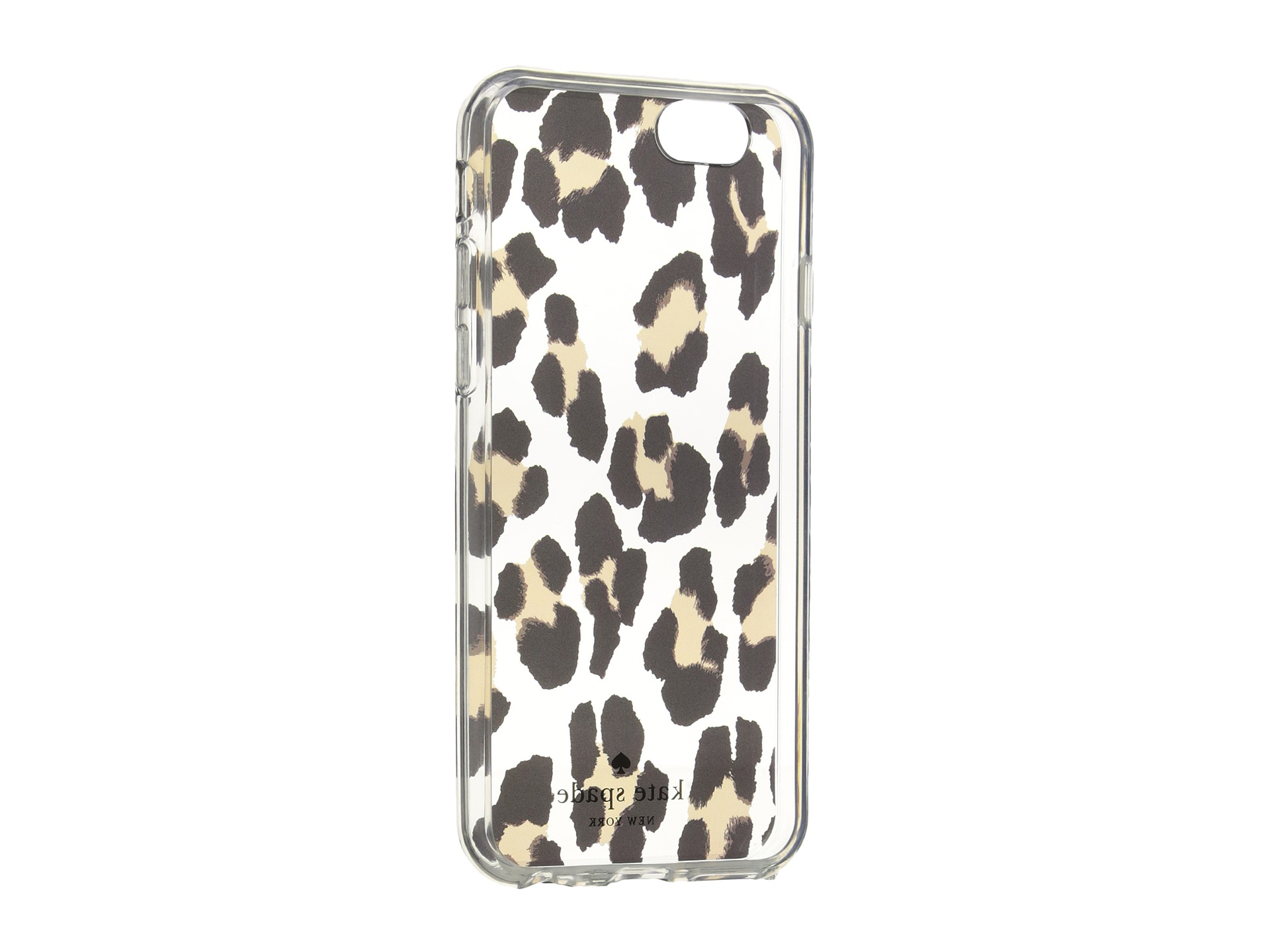 Kate Spade New York Leopard Clear Phone Case for iPhone 6 ...