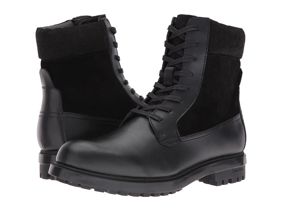 Calvin Klein Gable (Black Leather) Men