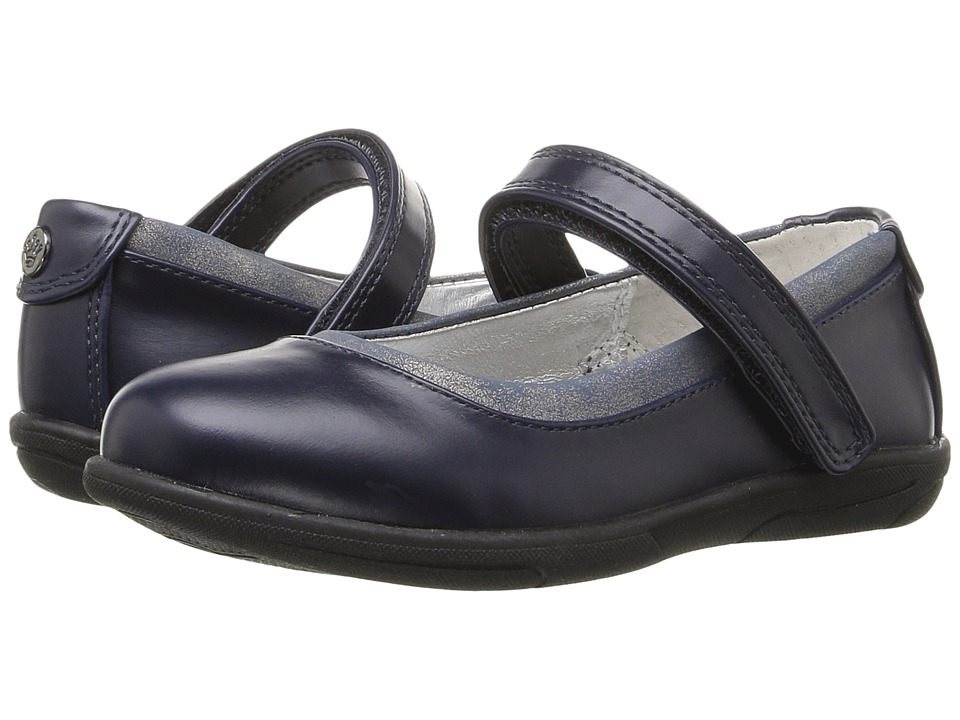 Nina Kids - Marta (Toddler/Little Kid/Big Kid) (Navy Smooth) Girls Shoes